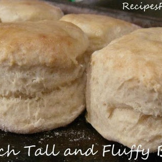 Tall and Fluffy Biscuits Made From Scratch.