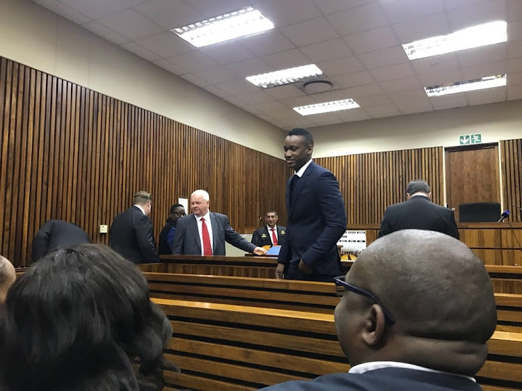 Duduzane Zuma at the Randburg Magistrates Court.