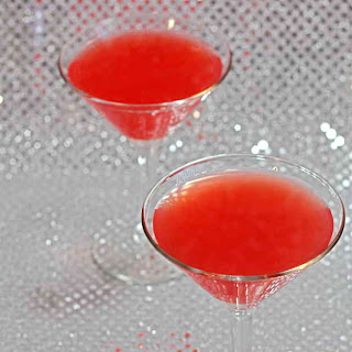 Pomegranate Martini cocktail.
