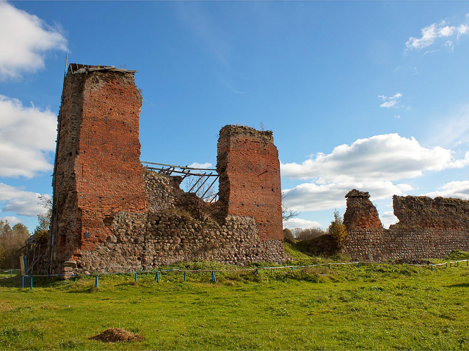 Достопримечательности Беларуси: Кревский замок
