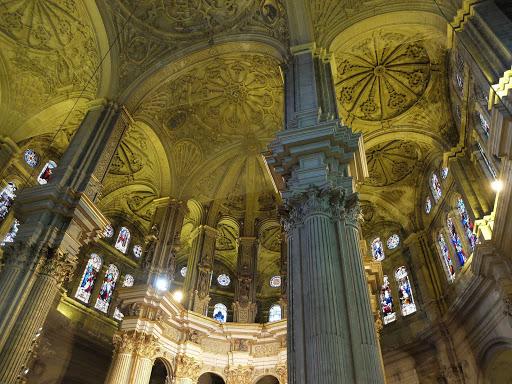 Santa Iglesia Catedral Basílica de la Encarnación in Málaga, Spain.