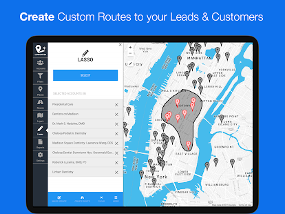 LeadPlotter - Route Planner & Sales CRM for PC-Windows 7,8,10 and Mac apk screenshot 16