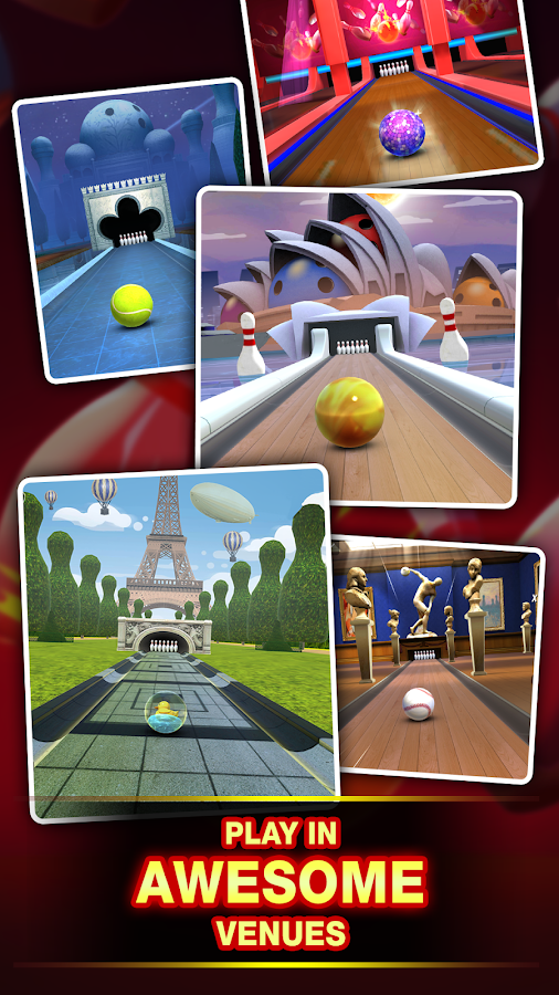 3D Bowling Bash- screenshot