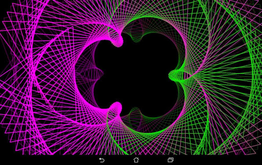 Hypnotic Pulsator Pro - Visualizer & Wallpaper  screenshots 10