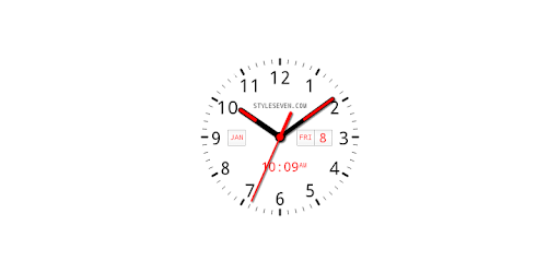 Analog Clock AW Plus-7 PRO Apps for Android screenshot