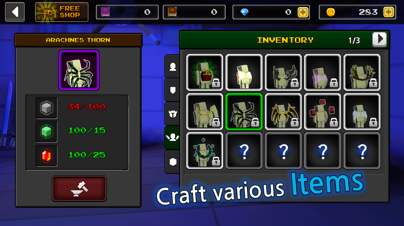 Pixel F Blade - 3D Fantasy rpg Screenshot 6