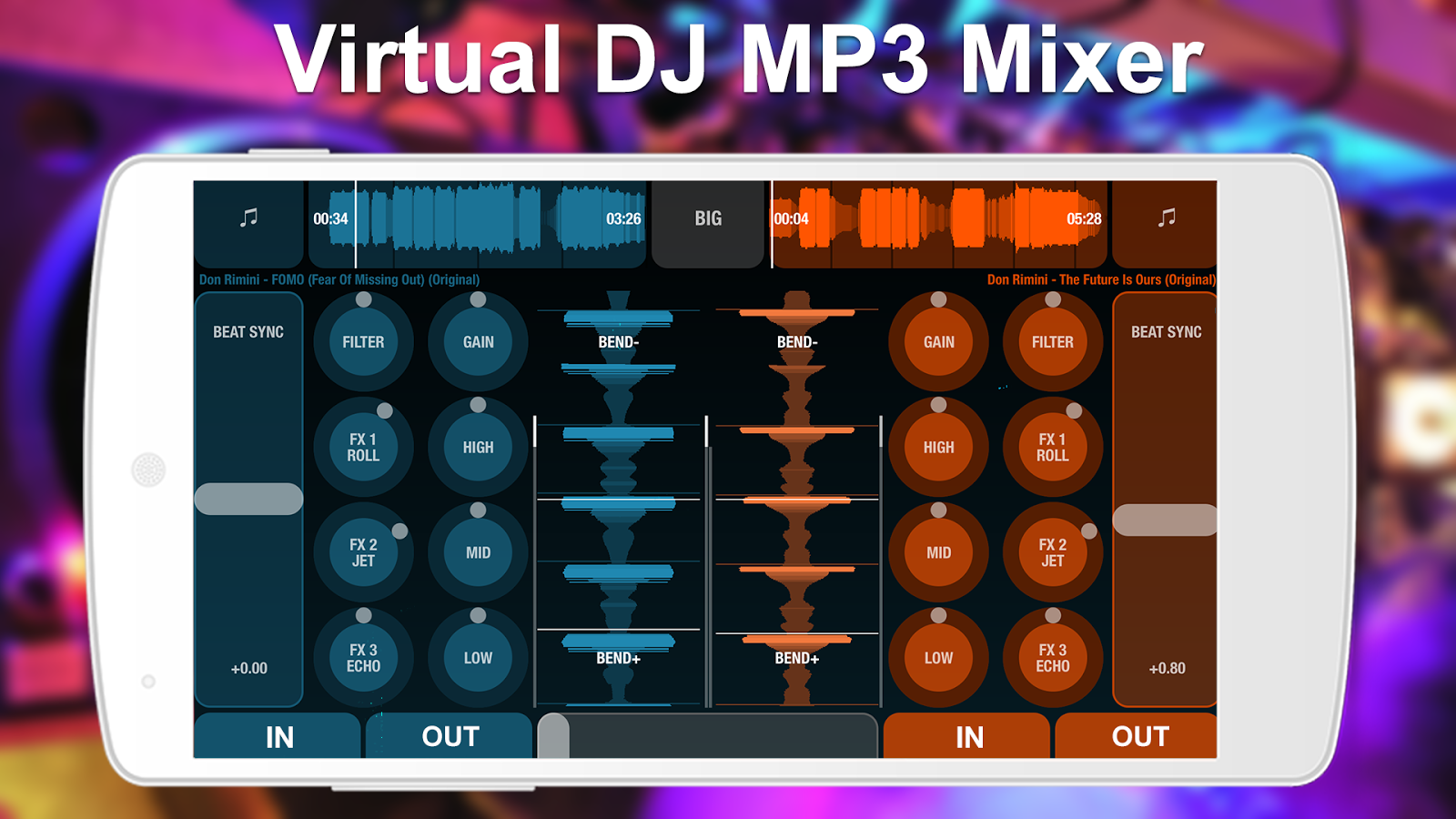 DJ Mix Remix Music : Bass Booster and Equalizer- screenshot