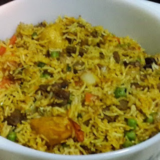 Tasty Mauritian Vegetables Briyani