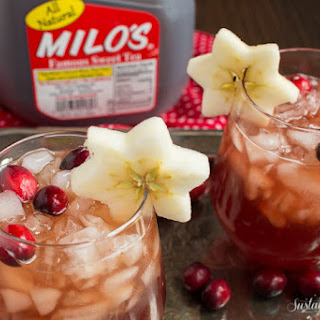 Milo's Tea Cranberry Apple Sweet Tea