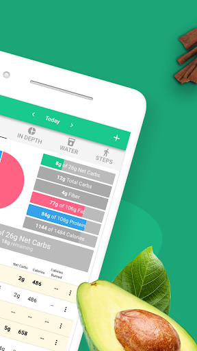 Carb Manager: Keto Diet Tracker & Macros Counter 1.3.1 screenshots 2