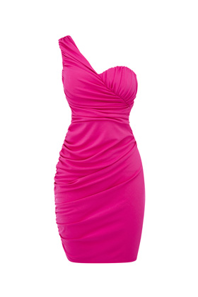 Photo: One Shoulder Drape Dress. Was £46. Now £20.   Get yours now at: http://www.warehouse.co.uk/sale-preview/dept/fcp-category/categorylist?resetFilters=true