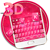 Pink Sparkling Diamond Keyboard Theme ? Android APK Download Free By ThemesDesignStudio