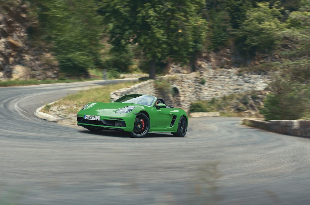 Porsche unveils sporty GTS versions of Cayman and Boxster - Business Day