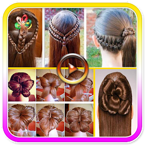 Girls Hair Styles Videos Android Apps On Google Play - Girl hairstyle video