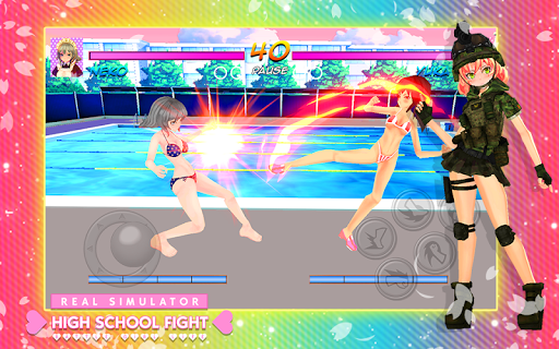 High School Girl Real Battle Simulator Fight Life painmod.com screenshots 6
