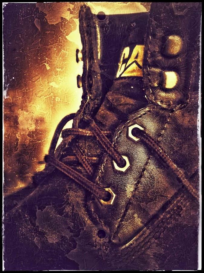 Footwear by Glenn Visser - Instagram & Mobile Android ( cat, boot, leather, shoe )