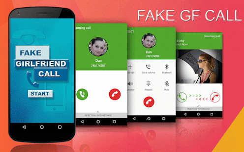 Game Fake Call GirlFriend APK for Windows Phone