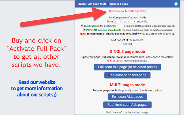 FULL PACK for Facebook™ - forever