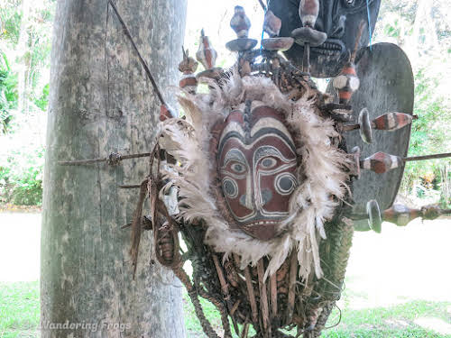 Papua. New Guinea East Sepik River Clans Crocodile Traditions. East Sepik River Mask