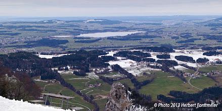 Photo: AUGENblicke: Panorama vom Gaisberg 1276 m.ü.M, Blick zum Wallersee     Wallersee Mit seiner sechs Quadratkilometer großen Wasserfläche ist der Wallersee der größte See des Salzburger Seenlandes.