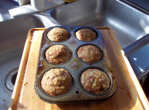Hot Out Of Oven Banana Carrot Nut Muffins