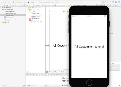 Adding Custom Font in iOS Application Xcode 9 | Coding