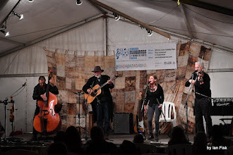 Photo: The Backwater Band in the Concert Marquee
