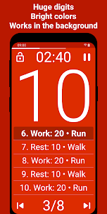 Tabata Timer Apk : Interval Timer Workout Timer HIIT 2