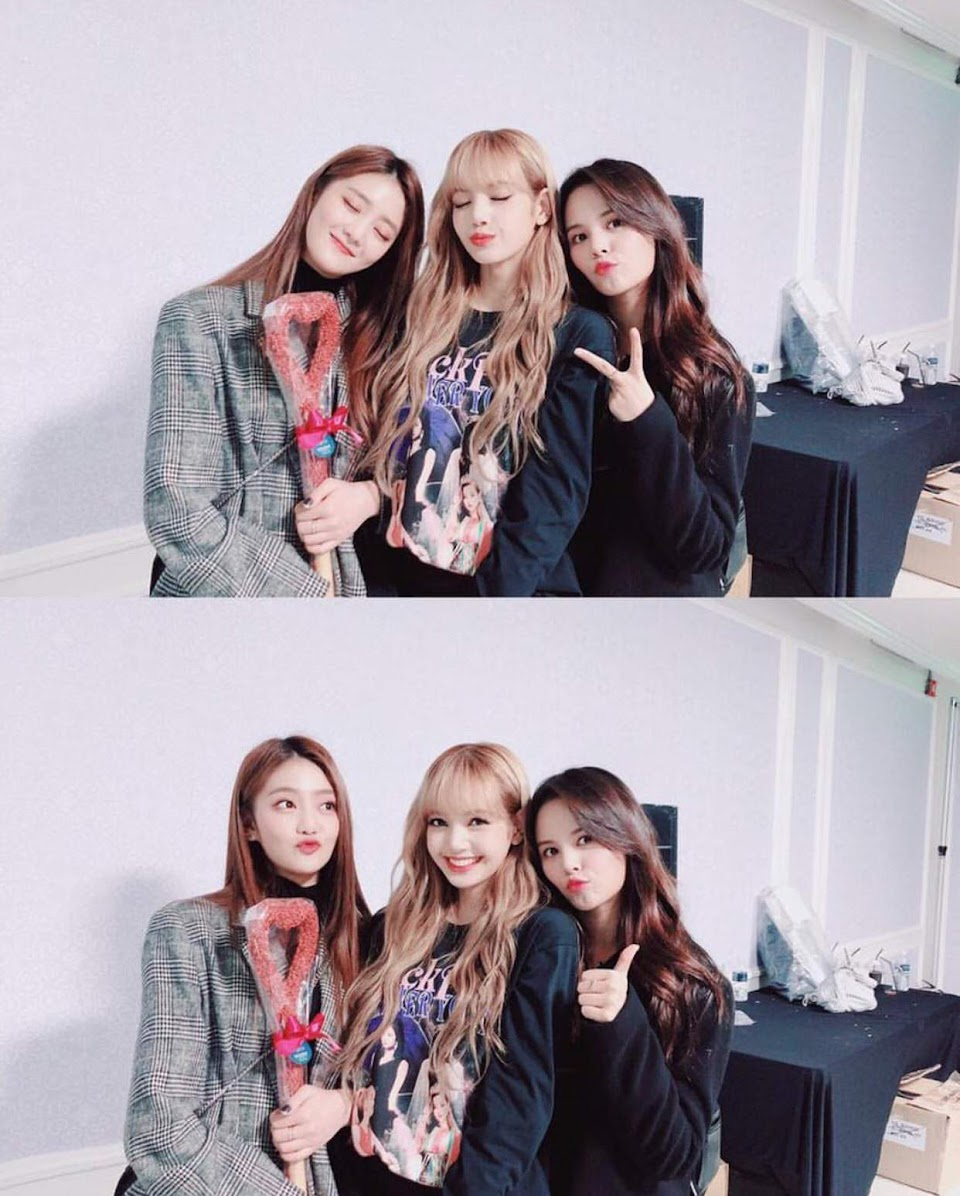 blackpink lisa gidle minnie clc sorn