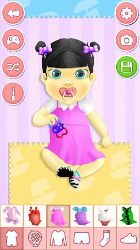 婴儿 换装游戏