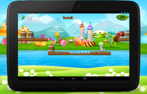 Bunny Dash Skater Adventure screenshot 4