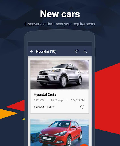 Cars India - Buy new, used car Screenshot