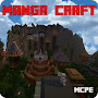 MangaCraft The village of Konoha Map for MCPE APK icon