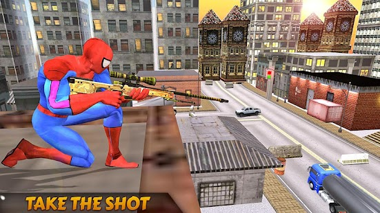 Mountain Sniper Hero Fury Shooter - náhled
