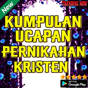 Download Kumpulan Ucapan Pernikahan Kristen Apk Latest Version App