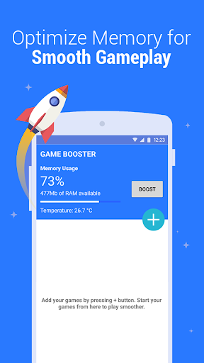 Game Booster - Play Games Smoother and Faster 1.8 screenshots 3