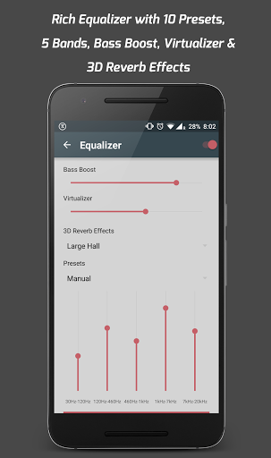 equalizzatore android