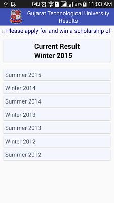 GTUResults - screenshot