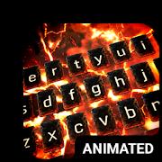 Volcano Animated Keyboard + Live Wallpaper