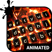 Volcano Animated Keyboard