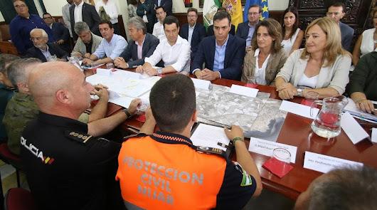 Pedro Sánchez no viene a Almería tras la borrasca pero irá a tres provincias