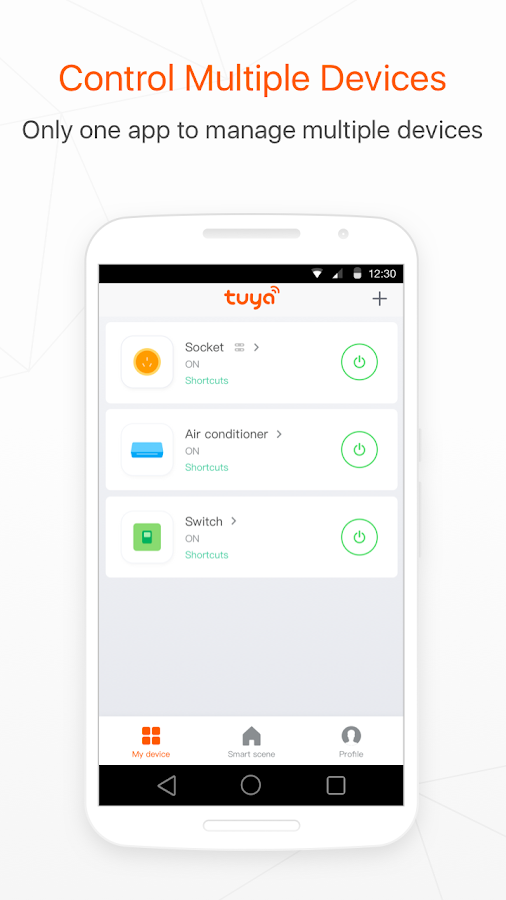 Tuya Smart- screenshot