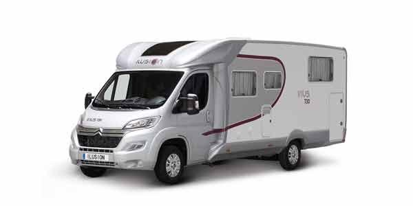 Venta y alquiler de autocaravanas ILUSION IRIUS 730 en Zaragoza y Huesca