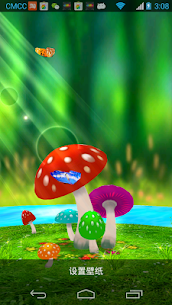 Mushrooms 3D Live Wallpaper Apk Latest Version Download For Android 2