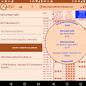 RailCal: the official India Rail Info app