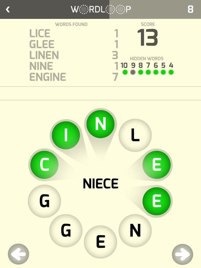 Word Loop- screenshot