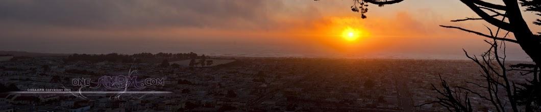 Photo: San Francisco Sunset - SUN BALL