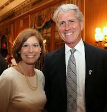 Photo: Jennifer Donahue (SJC) and Judge Mark Green (MA Appeals Court).