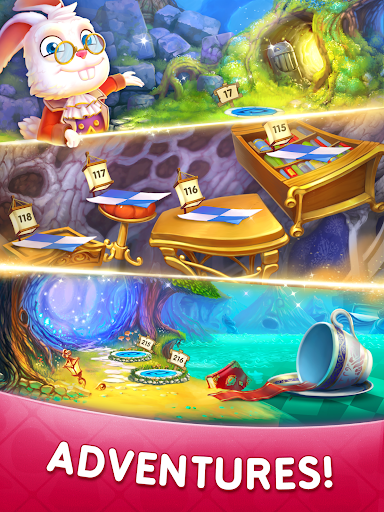WonderMatchu2122uff0dMatch-3 Puzzle Alice's Adventure 2020 2.2 screenshots 10
