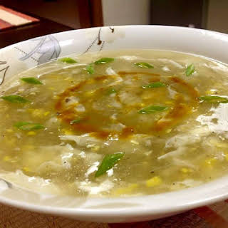 Chinese Chicken Corn Soup.